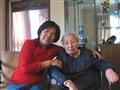 2009年10月和郭阿姨在成都合影