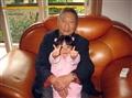2009年爷爷和我大女儿琦琦