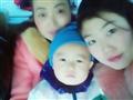 浩浩和妈妈的合照婆婆
