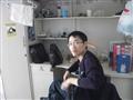 张博在宿舍